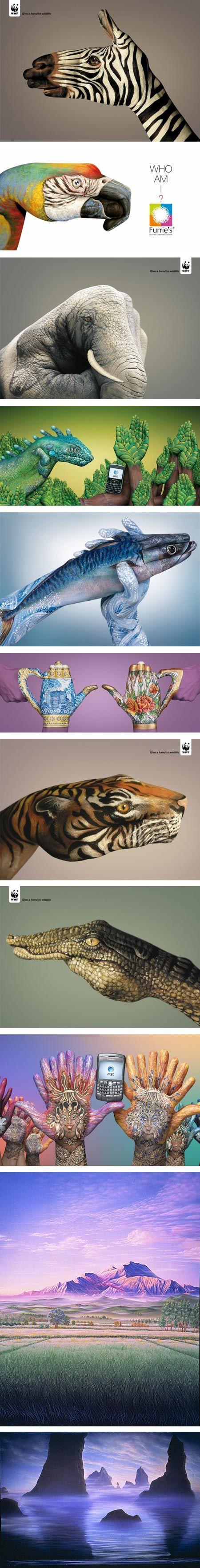 Handimals by Guido Daniele - Milan based illustrator