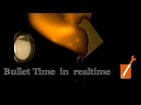 """""""Bullet Time"""" with the Chronos high-speed camera - YouTube"""