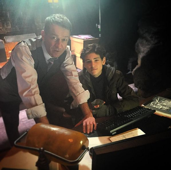sean pertwee First day back down the cave with the 'Bossman'