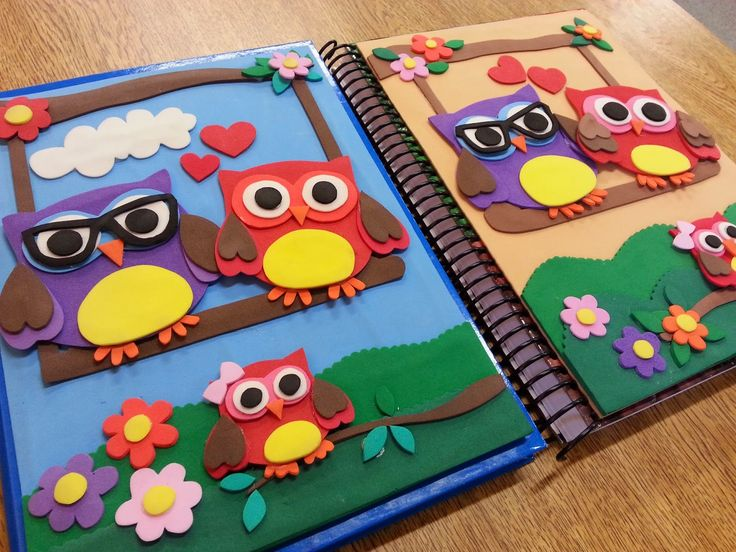 Customização de capa de caderno | Casa da Flá