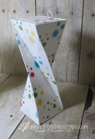 Stamp & Scrap with Frenchie: Twisted Box with Frenchie