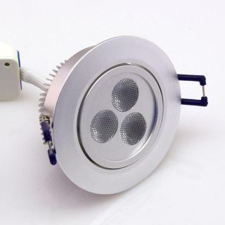 9W RGB LED Einbaustrahler Dimmbar, steuerbar