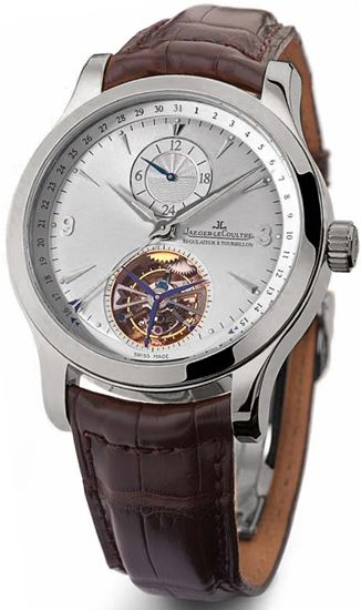 Jaeger LeCoultre Master Tourbillon Mens Watch