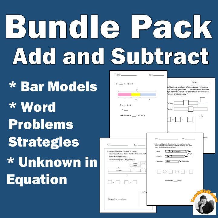 78 best Math Worksheets images on Pinterest | Bar model, Equation ...