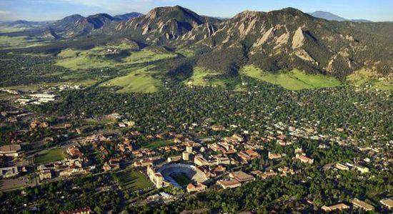 boulder, colorado ....@Adam M Pearson wants to move here. i say let's visit first.