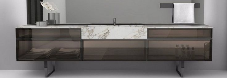 At Milan Furniture Fair 2016, you can attend besides Salone del Mobile to Salone del Bagno 2016. BESPOKE designed by Carlo Colombo is an Antoniolupi bathroom...