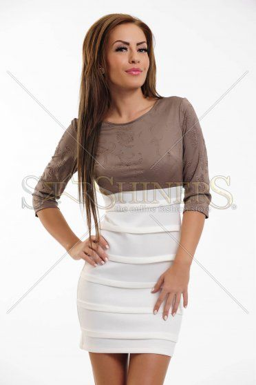 Rochie LaDonna Pretty Style Brown