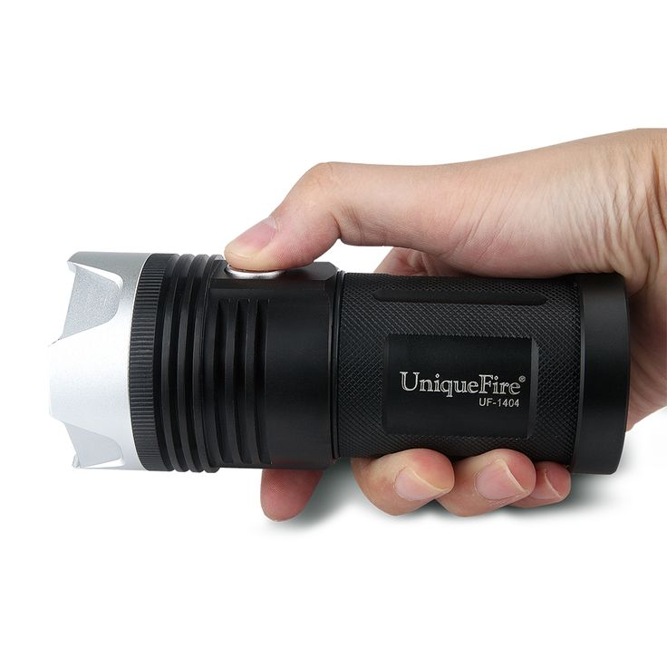 33.77$  Watch here  - High Power Flashlight  UniqueFire 4000 Lumens Lamp Torch UF-1404 4*CREE XP-L LED Flashlight 18650 Rechargeable For Hiking,Campin
