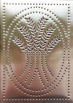 25 best ideas about punched tin patterns on pinterest for Aluminum can crafts patterns