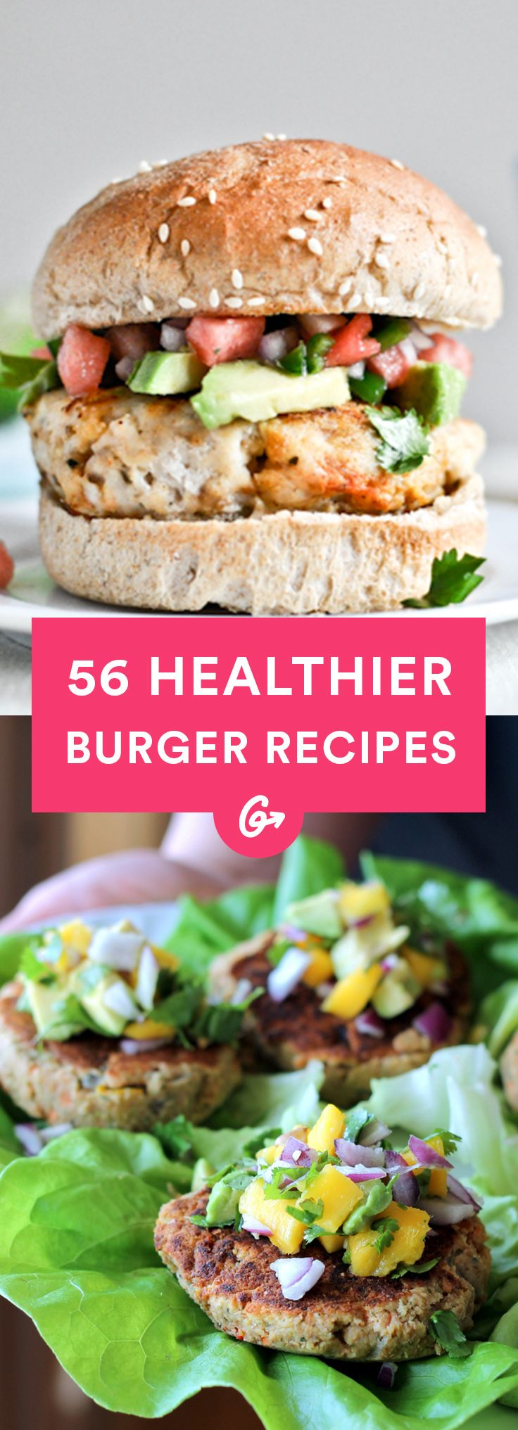Celebrate the unofficial start of summer with some of the tastiest and most creative burger... http://greatist.com/health/healthy-burger-recipes