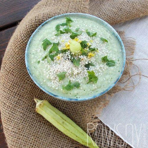 Крем-суп из огурцов - Сыроедение, рецепты и диеты - Rawsay