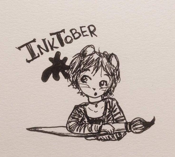 Jennifer Lindroos (@tweetyloop) | Twitter - Are you participating in Inktober too?