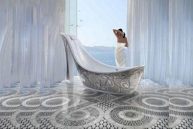 SHOE SHAPE BATHTUB :)