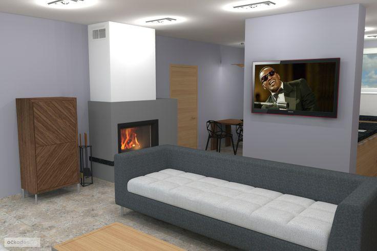 ...krb je navržen tak aby moc nedominoval v prostoru, aby byl jeho přirozenou součástí. Petr Molek interiérový design www.ockodesign.cz