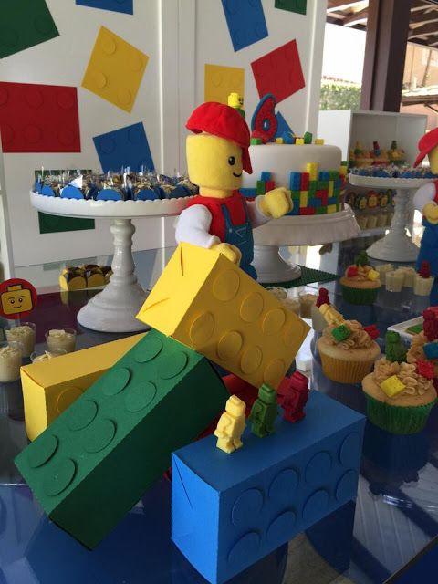 Bella+Fiore+Decoração+de+Eventos:+Festa+para+Meninos+-+Tema+Lego