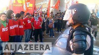 Argentinians protest against austerity measures