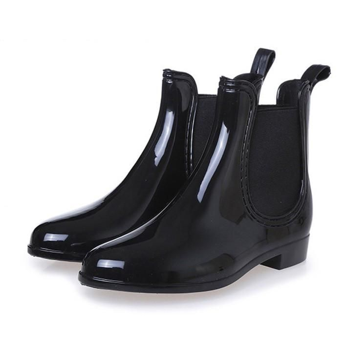 Rain Boots Pointed Toe Women Rubber