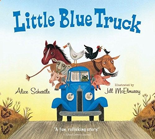 Pick up the ABC farm animals in the Little Blue Truck. Includes free printables.