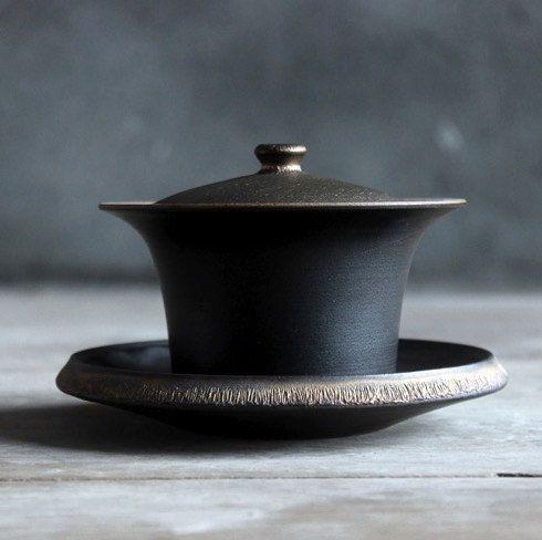 Hand-made Gaiwan/tea bowls,jingdezhen Porcelain Porcelain tea set,Chinese style ceramic teaware,
