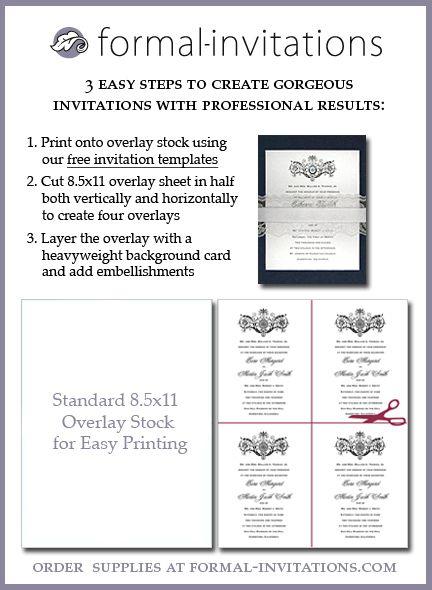 Přes 25 nejlepších nápadů na téma Free Wedding Invitation - invitation template free