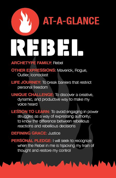 The Rebel Archetype at a Glance | Archetypes