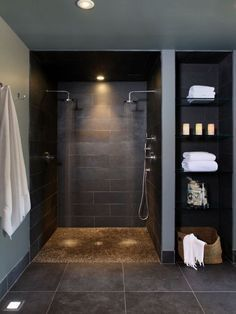 Amazing Basement Layout Ideas Ideas Exciting Basement Ideas On A Budget Nice Lighting Collaboration: Contemporary Bathroom Basement Double Shower Heads With Pebble Base And Storage ShelvesCool Basement Ideas Astounding Basement Plans Ideas Industrial Style ~ francotechnogap.com Basement Inspiration by CrisC