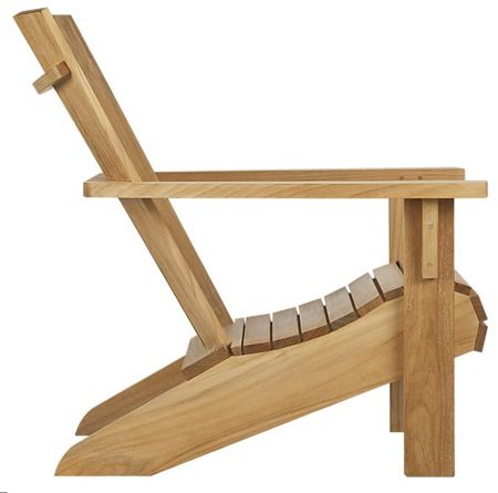 simple wooden low adirondack chairs - Google Search                                                                                                                                                     More