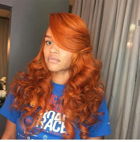 17 Best ideas about Red Weave Hairstyles on Pinterest  Red weave, Red hair weave and Sew in