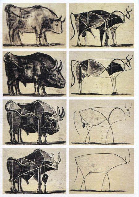 Picasso - estudo Touro