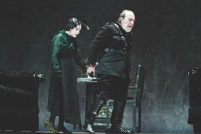 DANZA MACABRA di August Strindberg al Teatro Sociale (BS)