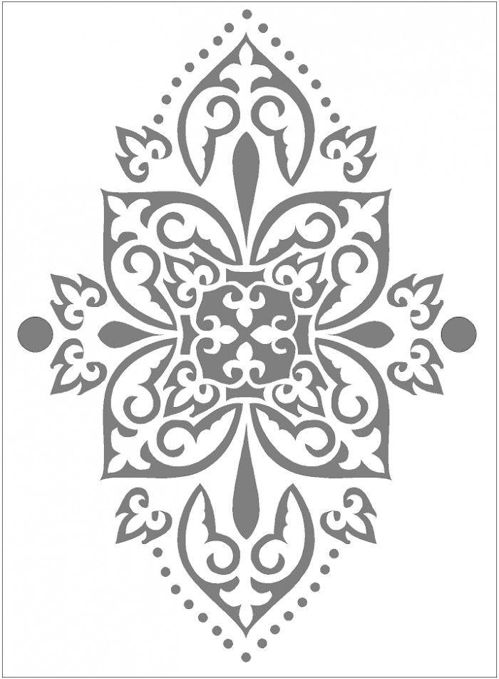 oosterse beschildering. ook als sjabloon voor vloer te gebruiken denk ik...maar eens uitproberen