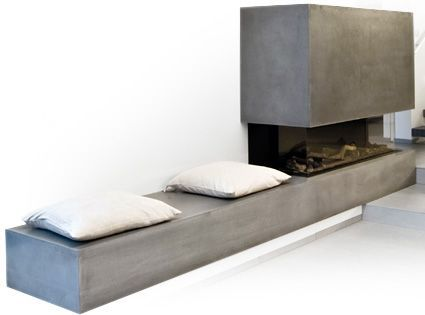 Die besten 25+ Kamin modern Ideen auf Pinterest moderne Kamine - heizkorper modern wohnzimmer