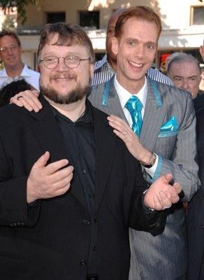 Guillermo Del Toro and Doug Jones.  Besties.