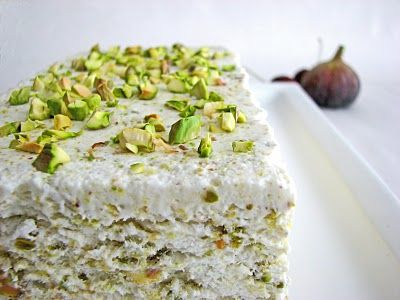 pistachio semi freddo or other semi freddo