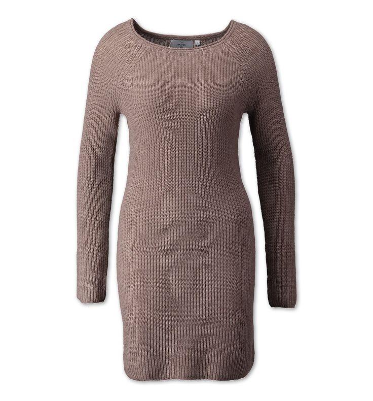 Sklep internetowy C&A | Sukienka dzianina, kolor:  jasnobrązowy | Dobra jakość w niskiej cenie