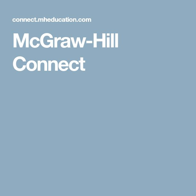 The 25 best mcgraw hill connect plus ideas on pinterest connect mcgraw hill connect fandeluxe Image collections