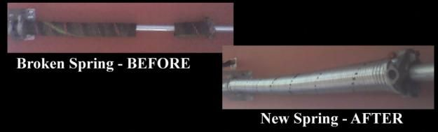 Pictures of  Garage Door Spring Repair FREE ESTIMATES!!