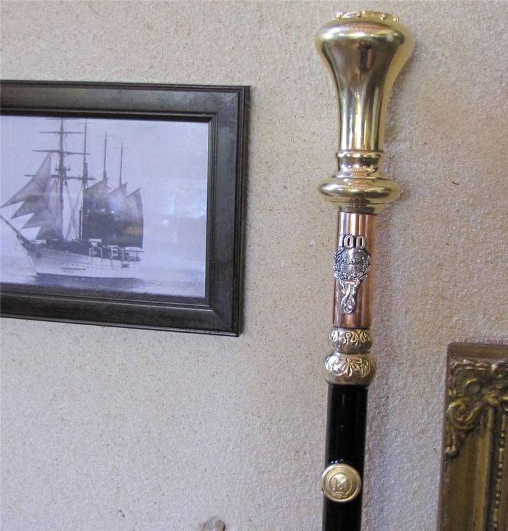 Crafted Walking Stick TITANIC 100years