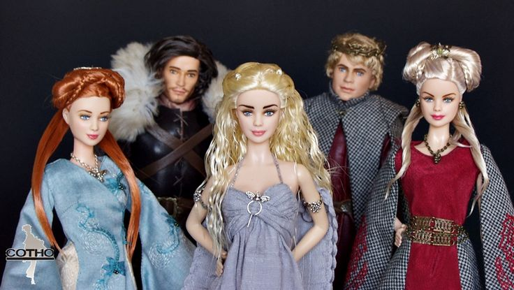 Daenerys, game of thrones doll