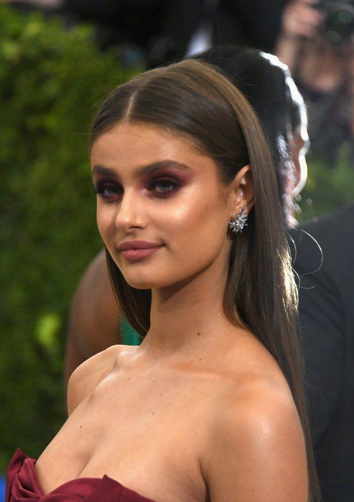 Taylor Hill Hair and Makeup at the Met Gala 2017
