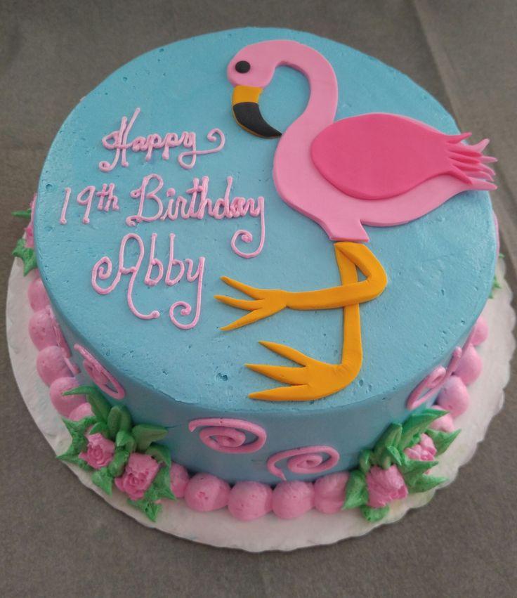 Vintage Bakery, LLC. Columbia SC Region. Pink Flamingo is a Cheerful and Fun Cake. (803) 386-8806 www.VintageBakery.com