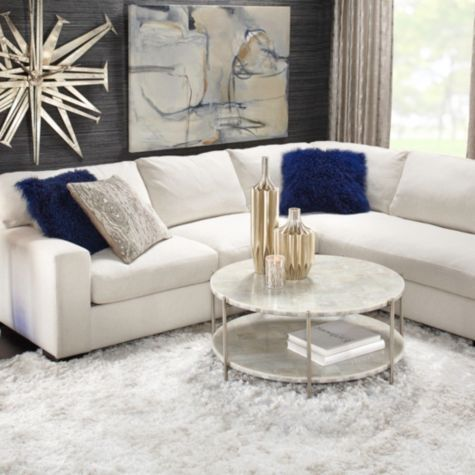 Glacier Coffee Table From Z Gallerie Living Room LoungeLiving IdeasLiving Furniture