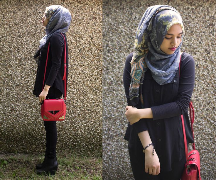 hijab outfits for college - Google Search