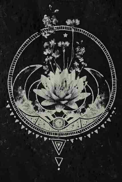 Sacred geometry art - trippy shit.