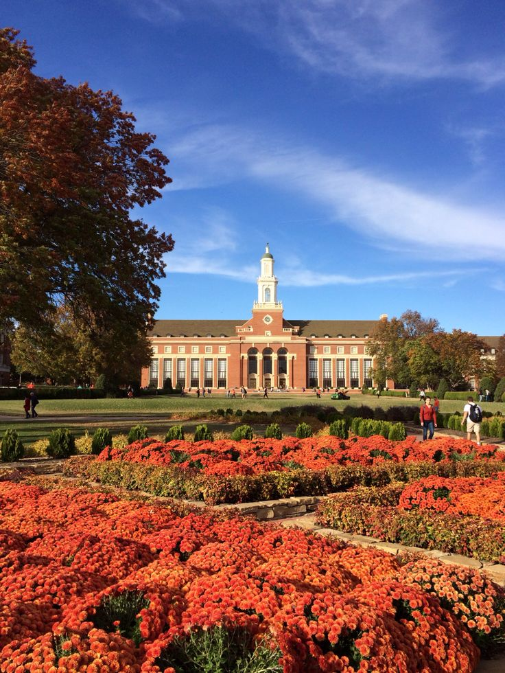 Oklahoma State University. Such a beautiful campus!