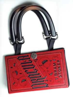 dracula book purse