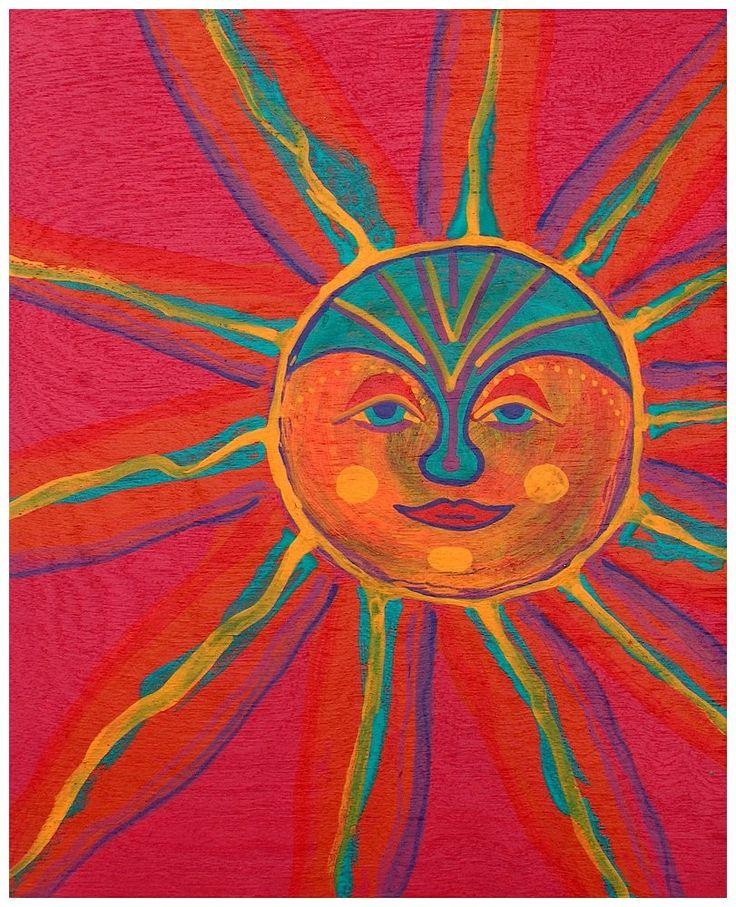 SUN by RaintreeDesignStudio  Love the colors.