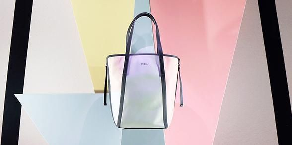 Furla Stella bag at Milan Design Week. Special preview in our Duomo flagship store. Sign up: http://bit.ly/1PSjnoB