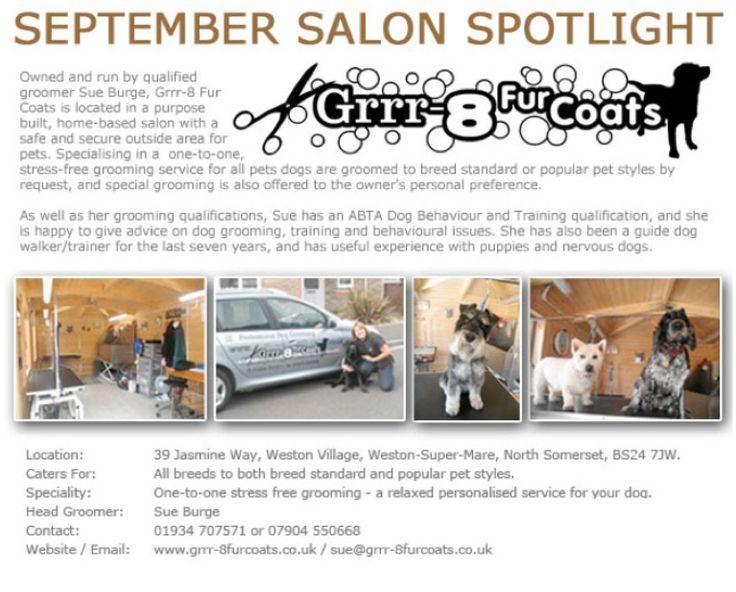 Salon Spotlight September 2012, Grrr8 Fur Coats