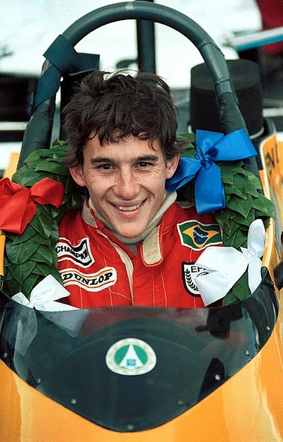 Ayrton Senna by Racing Pics 1980s, via Flickr
